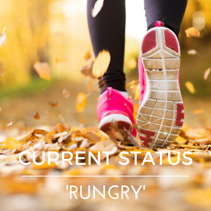 2d05dc500b Current Status – 'Rungry' | Clean Coach Katie
